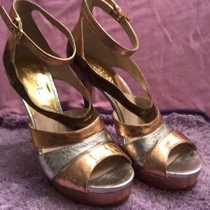 Michael Michael Kors Multi Metallic Stelleto 8.5